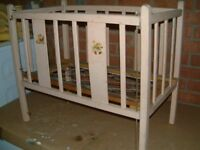 Triang Wooden Dolls Cot dates back to at least the 1940's.