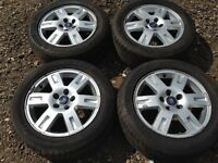 "Ford Mondeo / focus / transit connect 16"" alloy wheels - nearly new tyres"