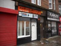 SHOP FOR SALE **GLASGOW/TOLLCROSS**