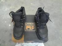 timberland toe capped working boots £55, and a pair of toe capped boots £10