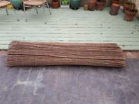 Willow Screen Fencing - long