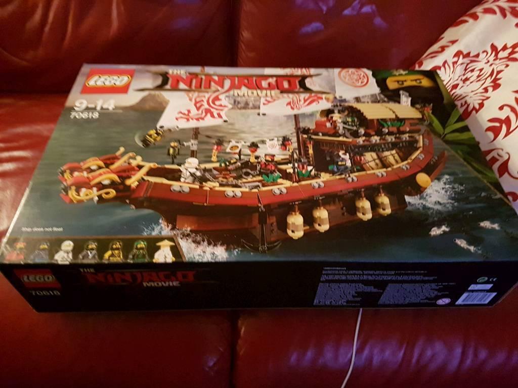 Lego Ninjago movie boat 70618 bnib