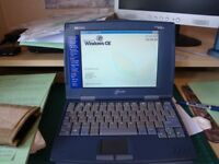 Hewlett Packard Jornada 820 word processor