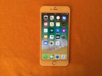 iPhone 6 Plus(O2, GiffGaff, Sky|14 Day Guarantee|16GB|Deliver+Post|Apple|Gold)