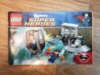 Lego DC Universe Super Heroes Black Zero Escape