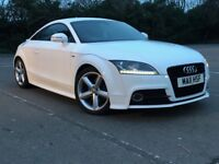Stunning 2011 Semi-Automatic Audi TT Quattro 2.0 Turbo TFSI S Line Coupe For Sale