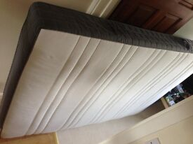 Ikea Malm Double Bed Frame and Matress