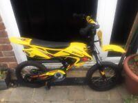 Avigo motorbike style kids bike 14 inch wheels for age 4-6 years
