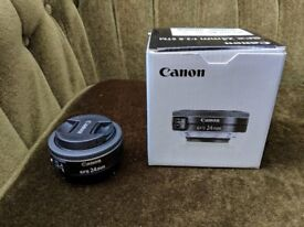 Canon EF-S 24mm F2.8 Lens EFS