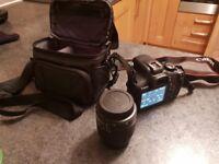 Canon EOS 1300d camera + extras