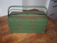 Vintage Three Tier Steel Tool Box