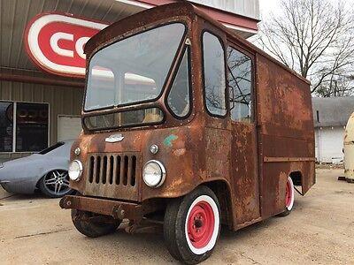 1961 Jeep Fj3 Fj3a Delivery Postal Rare Milk Divco Ih Metro