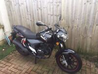 We have for sale here my son's KSR code motorbike
