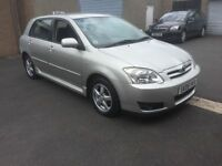 2005 TOYOTA COROLLA COLOUR COLLECTION FULL SERVICE HISTORY 1 OWNER PX WELCOME £1195