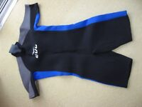 Wetsuit shortie and yachting jacket, brand new, medium size