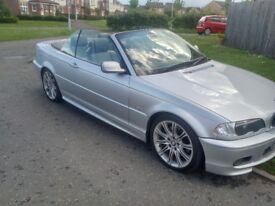 BMW 330ci AUTO M SPORT CONVERTIBLE EXCELLENT CONDITION SWAP OR CHEAP PART EXCHANGE CONSIDERED WHY?