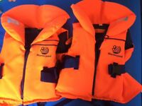 Wetsuit & life jacket job lot