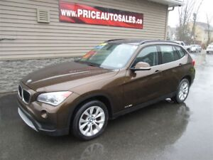 2014 BMW X1 28I - HEATED LEATHER - FULL GLASS ROOF!!!