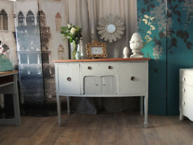 Shabby chic antique sideboard