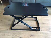 DIGITUS Ergonomic Seat Stand Laptop Desk top Work Surface