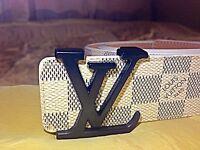 New Louis Vuitton belt mens