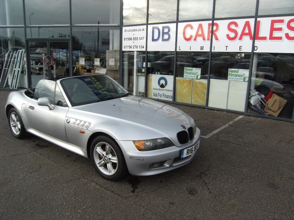 CONVERTIBLE!! 2000 BMW Z3 1.9 Z3 ROADSTER 2d 117 BHP **** GUARANTEED FINANCE **** PART EX WELCOME