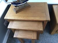 Nest of Tables OAK Brand new £80.00