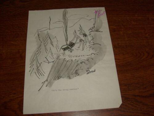 VIC HERMAN ORIGINAL COMIC / CARTOON ART: ELEVEN PIECES, lot3