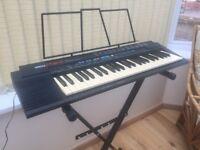 Yamaha Portatone PSR-2 Electronic Keyboard with stand