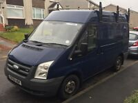 Ford transit 56 plate 129000 one year mot roof rack wood panelled