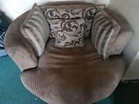 Snuggle sofa chair