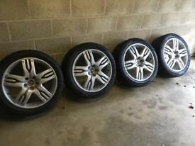 Overfinch Alloys and Tyres