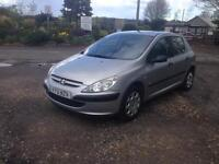 01/51 PEUGEOT 307 1.4 STYLE 5 DR (PART EX TO CLEAR)