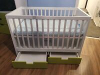 IKEA Cot Bed (Stuva Set)