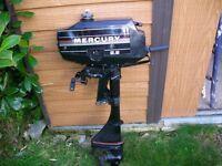 Mercury 2 Stroke Outboard Engine