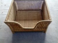 Dog Basket. Ex. condition. Hardly used.