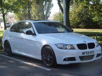 BMW 335i M sport Rare Alpine White LCI Fully Loaded