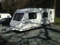 Elddis Avante 556 6 Berth fixed bunk