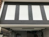 Used uPVC mock tudor boards in black