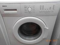 Beko 6Kg washing machine in good clean working order 3 months warranty RRP £199