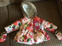 Ted Baker 3-6 months coat. BNWT