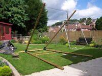 Swing heavy duty wooden