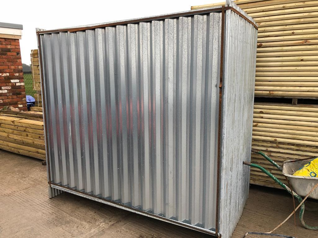SOLID HOARDING PANELS > NEW > TEMPORARY SITE SECURITY FENCING