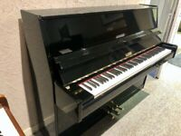 Neumann 112 Modern Upright Piano Gloss Black c1995 *FREE DELIVERY* WARRANTY
