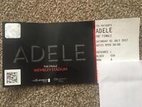 Adele ticket July 1st Wembley