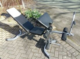 BODY GRIP WEIGHTS BENCH WITH LEG & ARM CURL