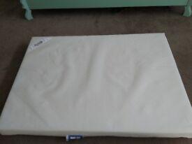 Cot mattress. Like new. Hardly used.