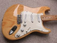 Fender Classic Series 70s Reissue guitar natural MIM