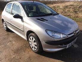 2001 Peugeot 206 1.1 Petrol 5 Door MOT November 75K Miles CREDIT & DEBIT CARDS ACCEPTED