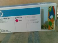 HP ink Cartridge Q6003A